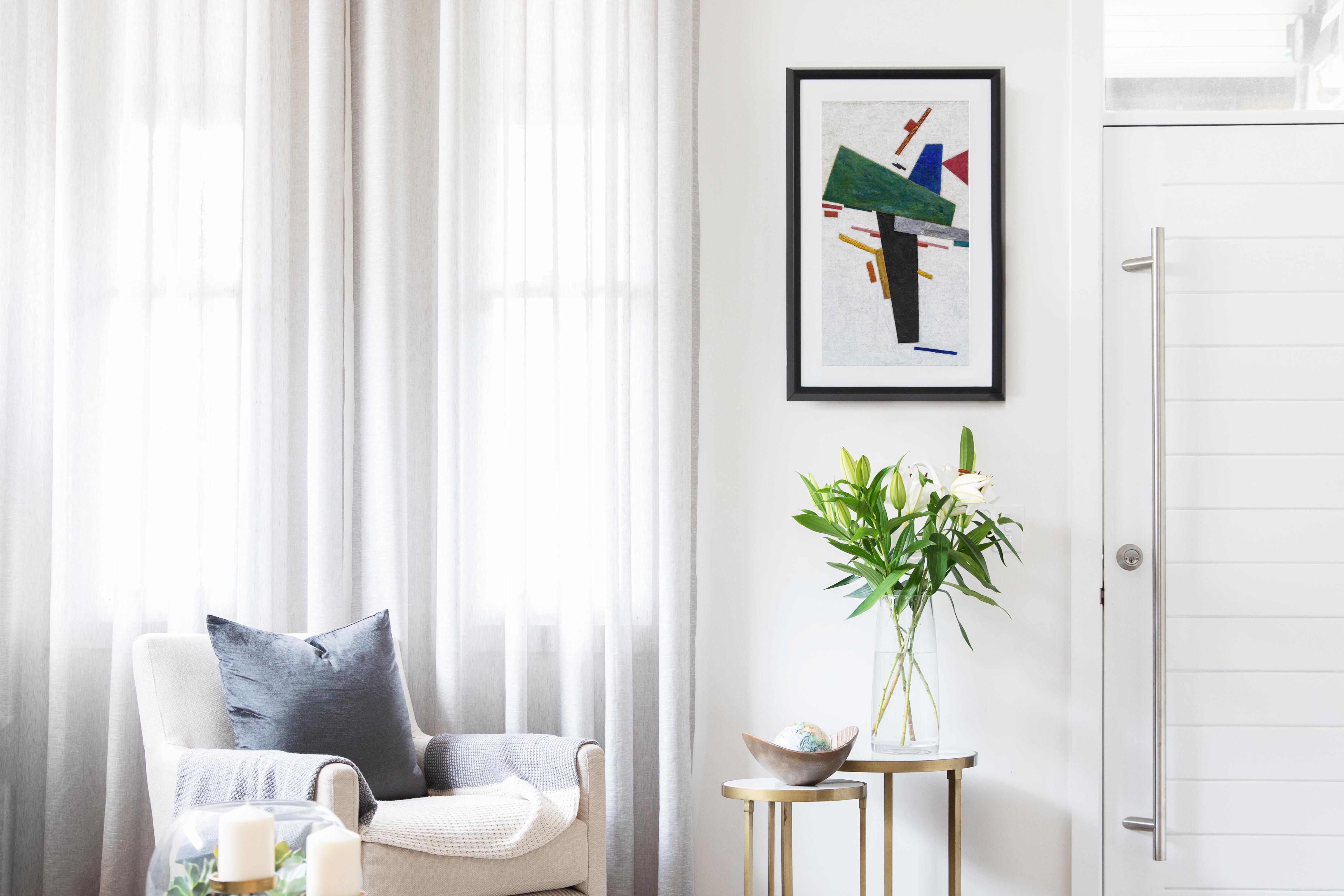 Choosing Art For A Minimalist Home Explore Meural S