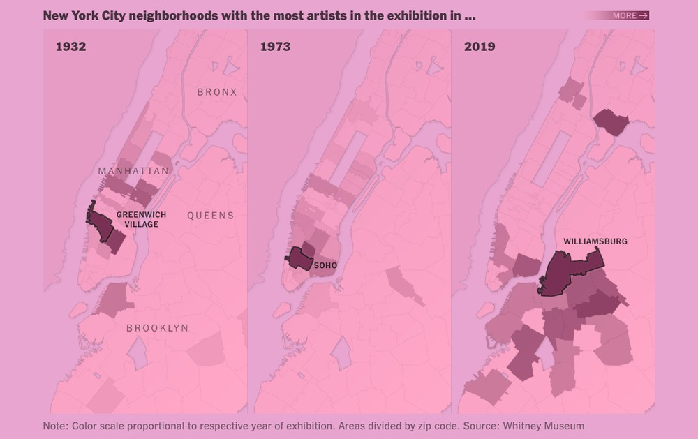 Mapping America's Artists, Art Market Ripples & More