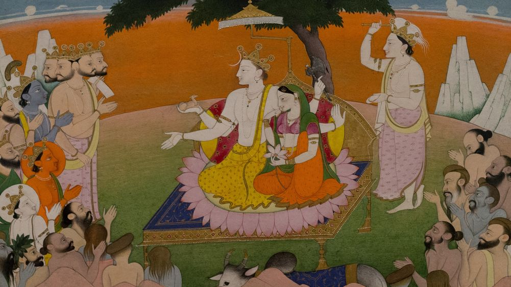 Marriage of Parvati and Shiva