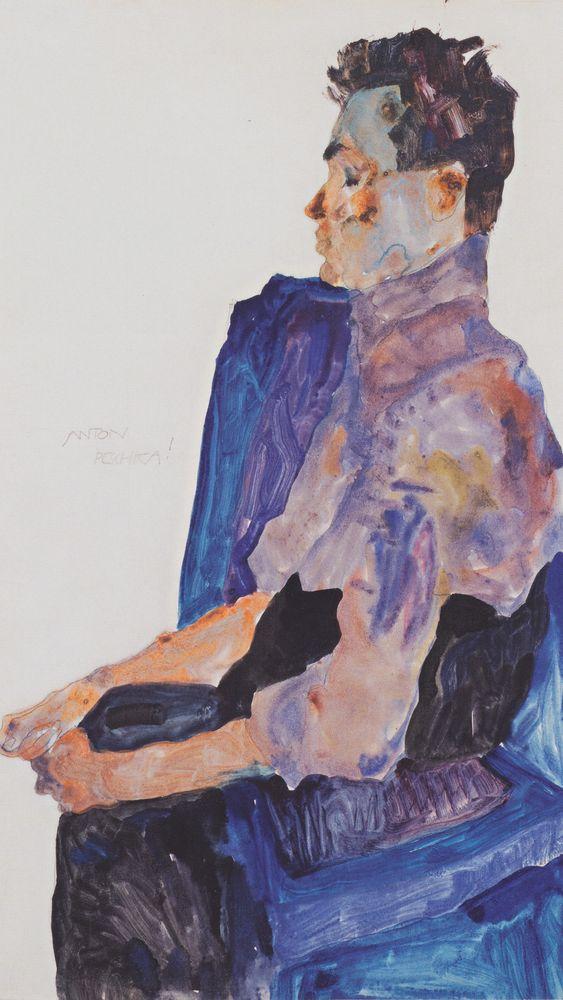 Portrait of Anton Peschka