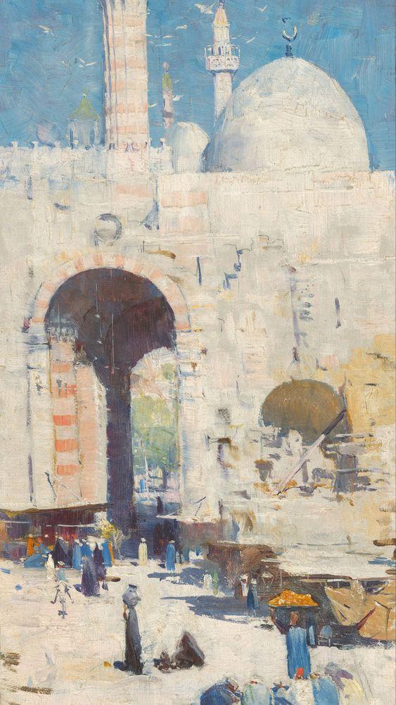 Cairo Street (Mosque, Sultan Hassan)