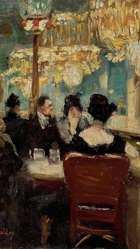 Galerie im Café Vaterland am Potsdamer Platz, Berlin