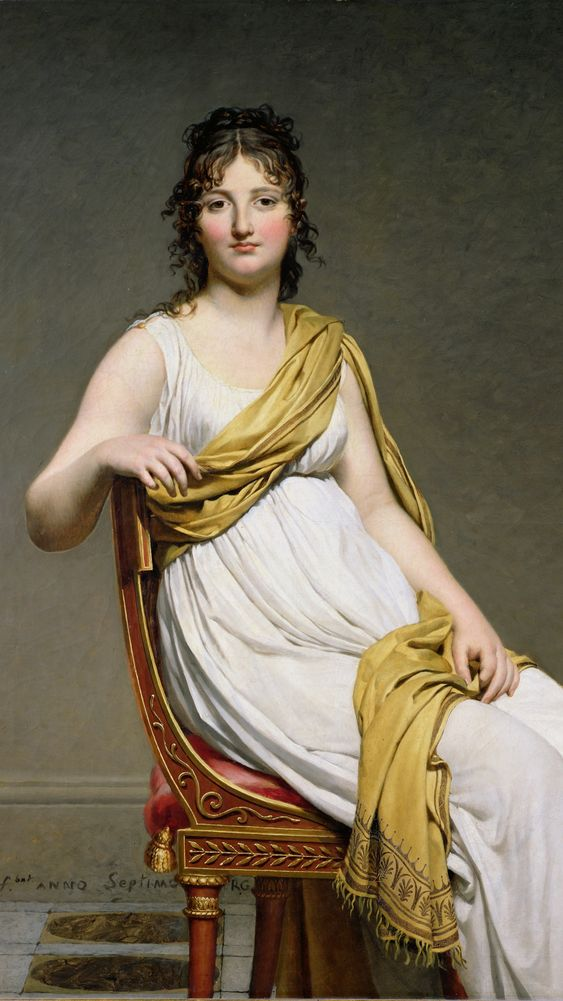 Portrait of Madame Verninac