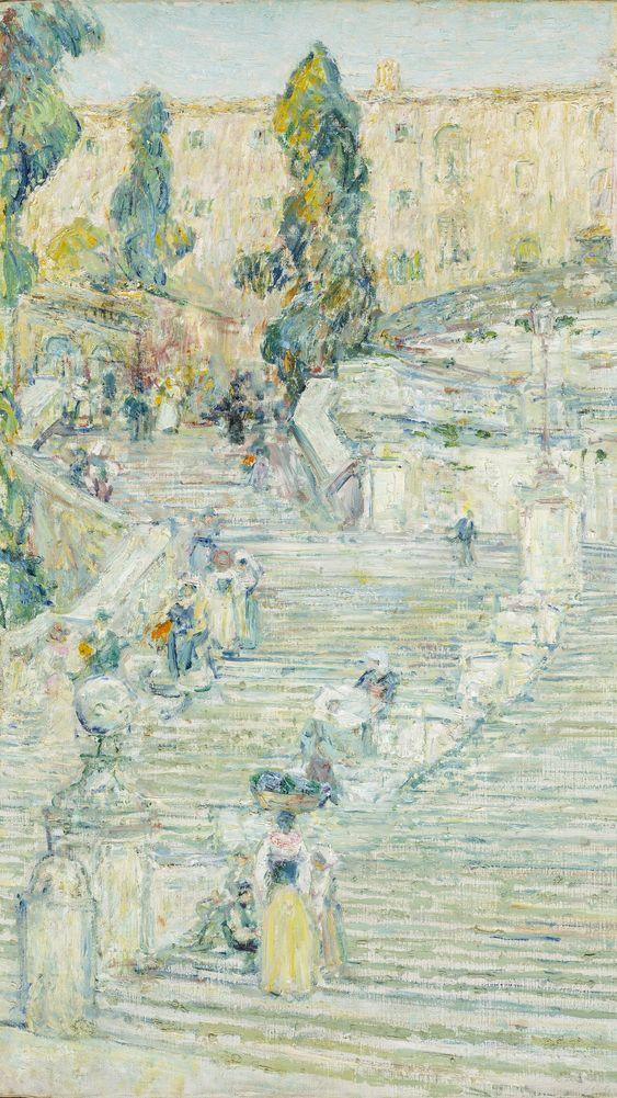 The Spanish Stairs, Rome