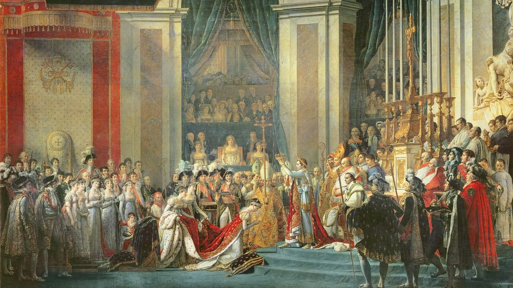 The Coronation of the Emperor and Empress