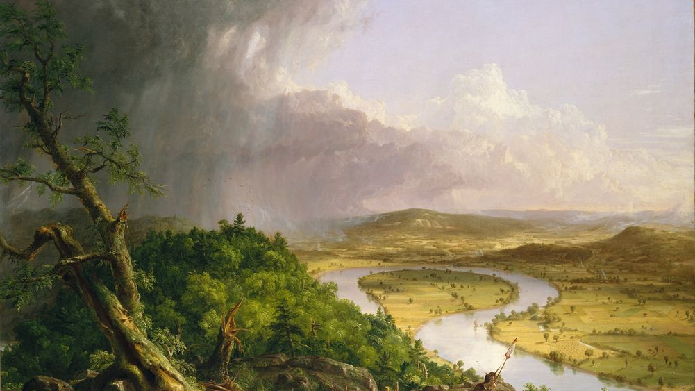 View from Mount Holyoke After a Thunderstorm, The Oxbow