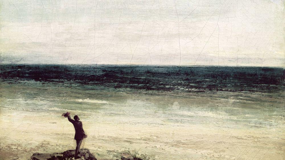 The Artist on the Seashore at Palavas