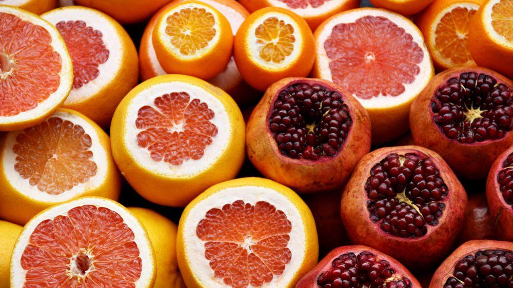 Oranges and Pommegranates