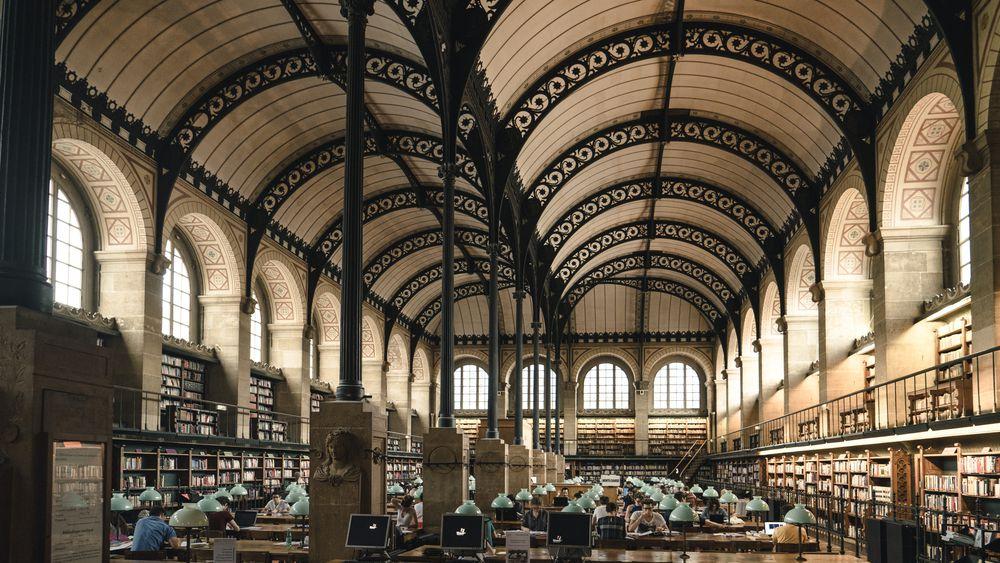 Parisian Library