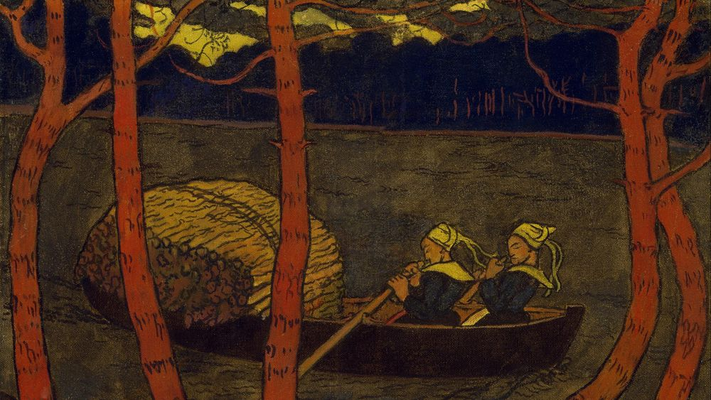 Boatwomen in Brittany