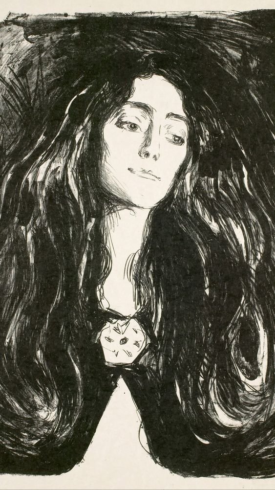 The Brooch. Eva Mudocci