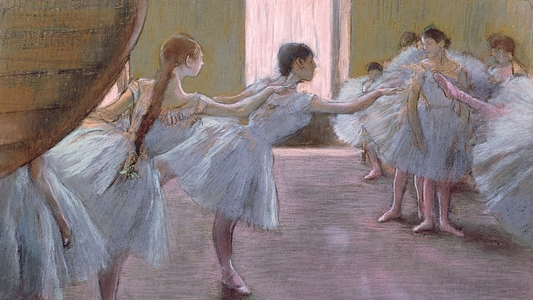 Dancers at Rehearsal