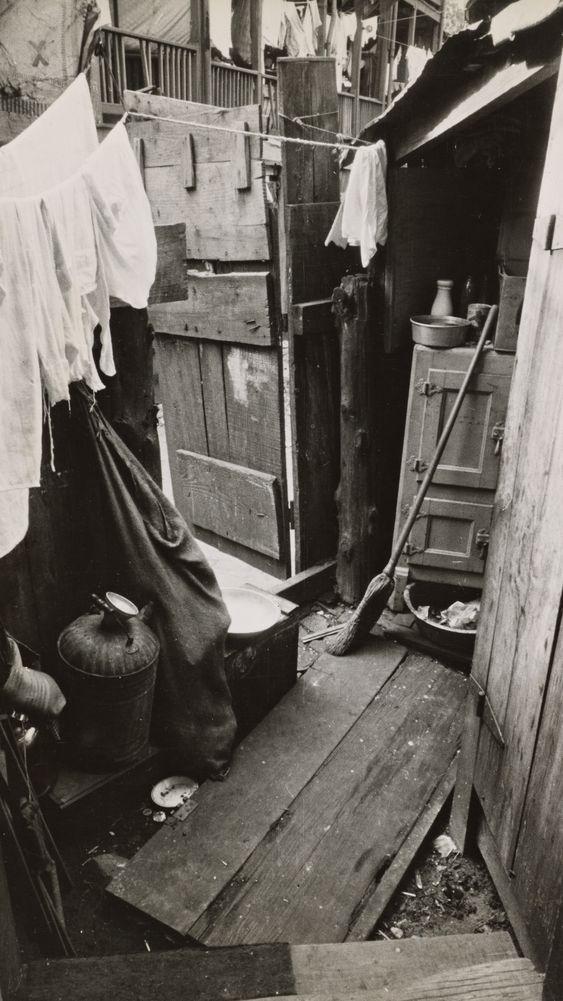 Slum Section near the Capitol, Washington, D.C.