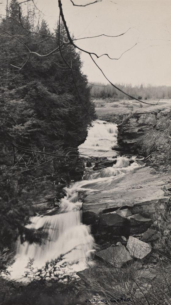 Waterfall on the Fall Brook Recreational Area, Pennsylvania