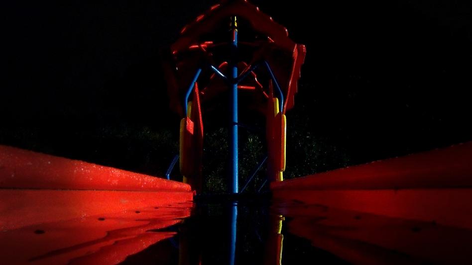 Untitled, Playground at Night Series