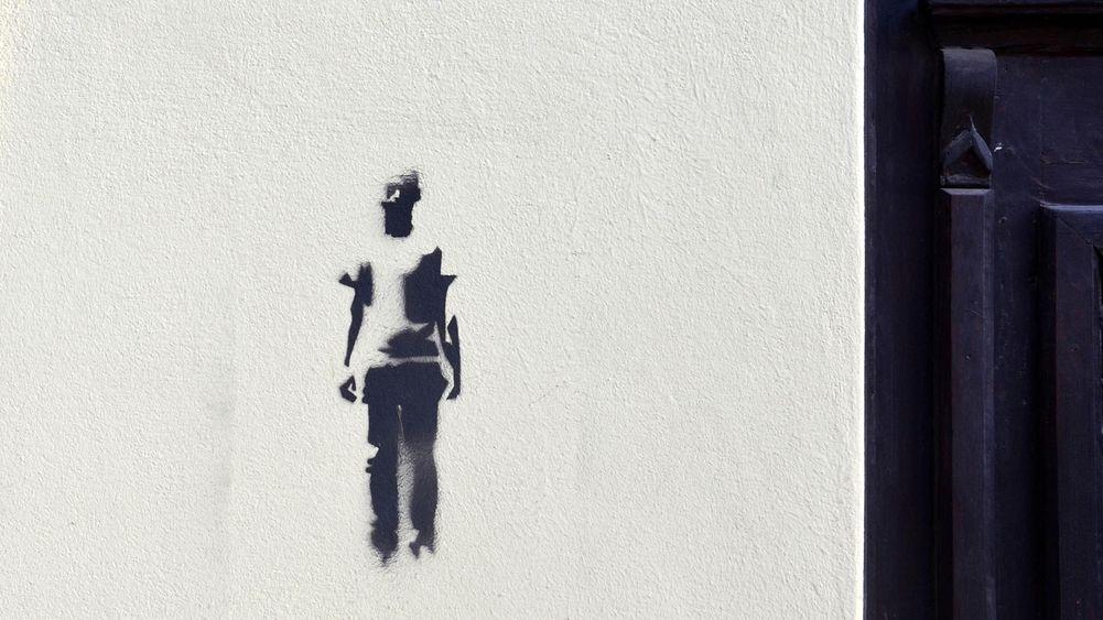 Banksy in Sanok