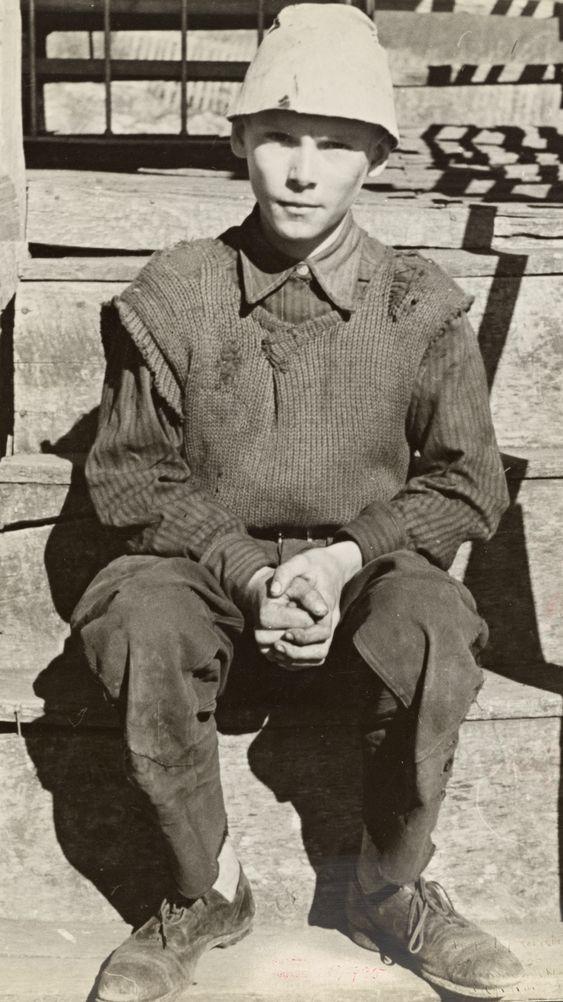 Son of Fannie Corbin, Shenandoah National Park, Virginia