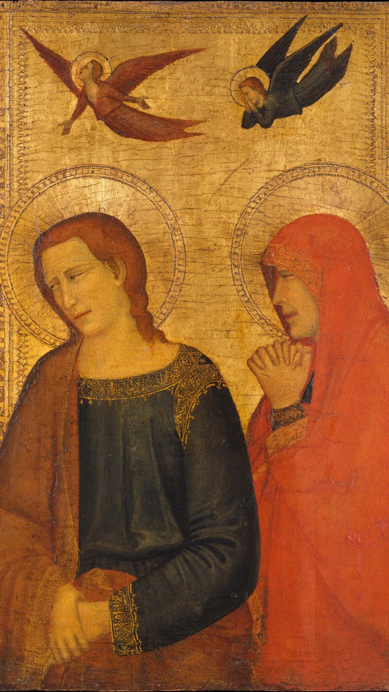 Saints John the Evangelist and Mary Magdalene (detail)