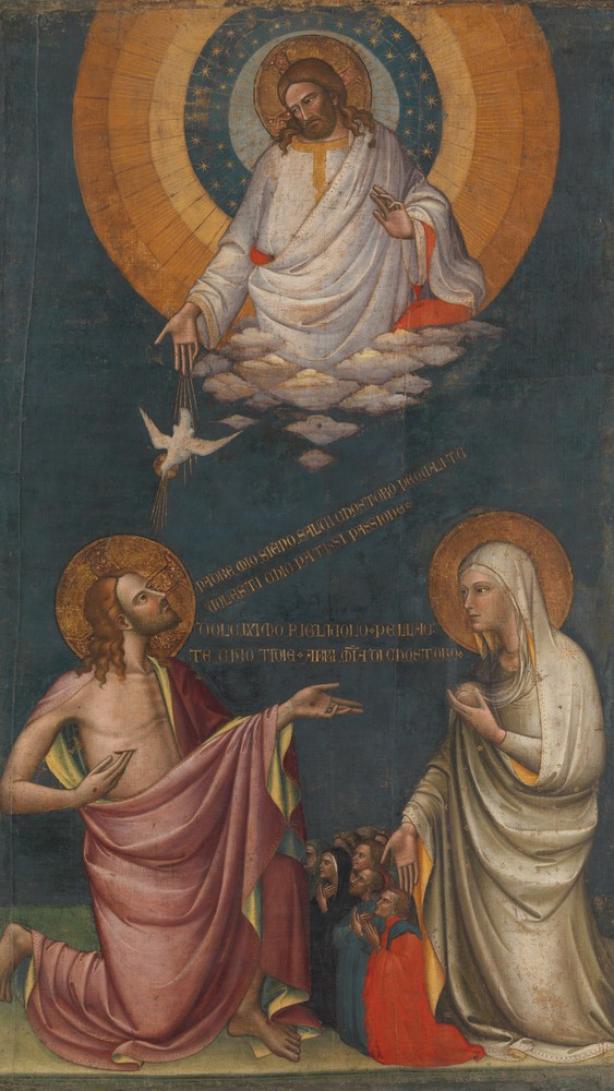 The Intercession of Christ and the Virgin (detail)
