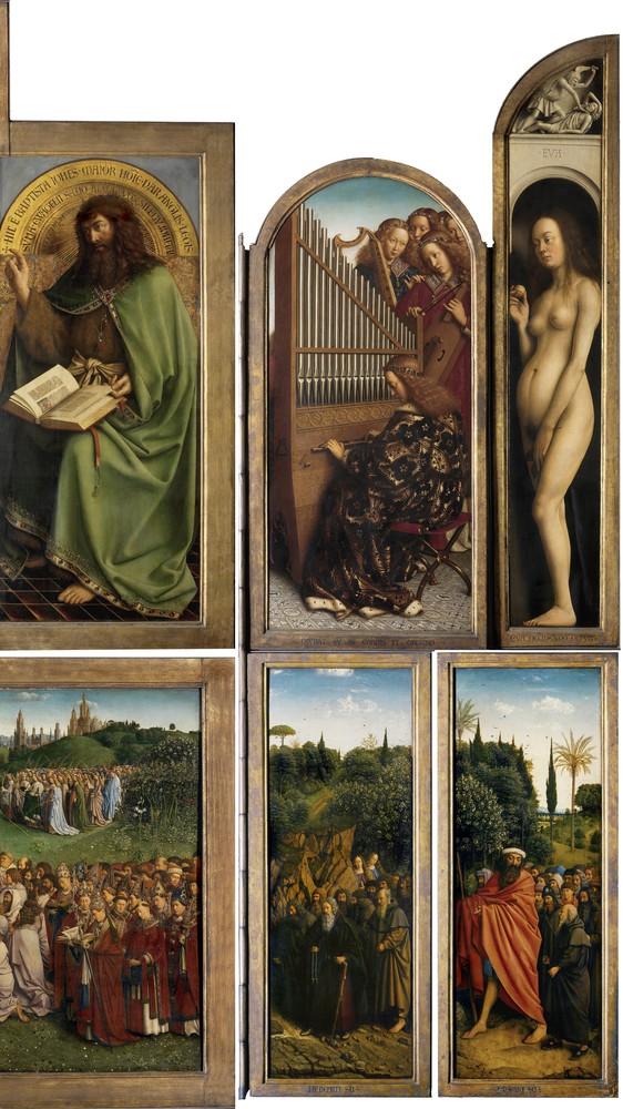 Ghent Altarpiece (detail, right)