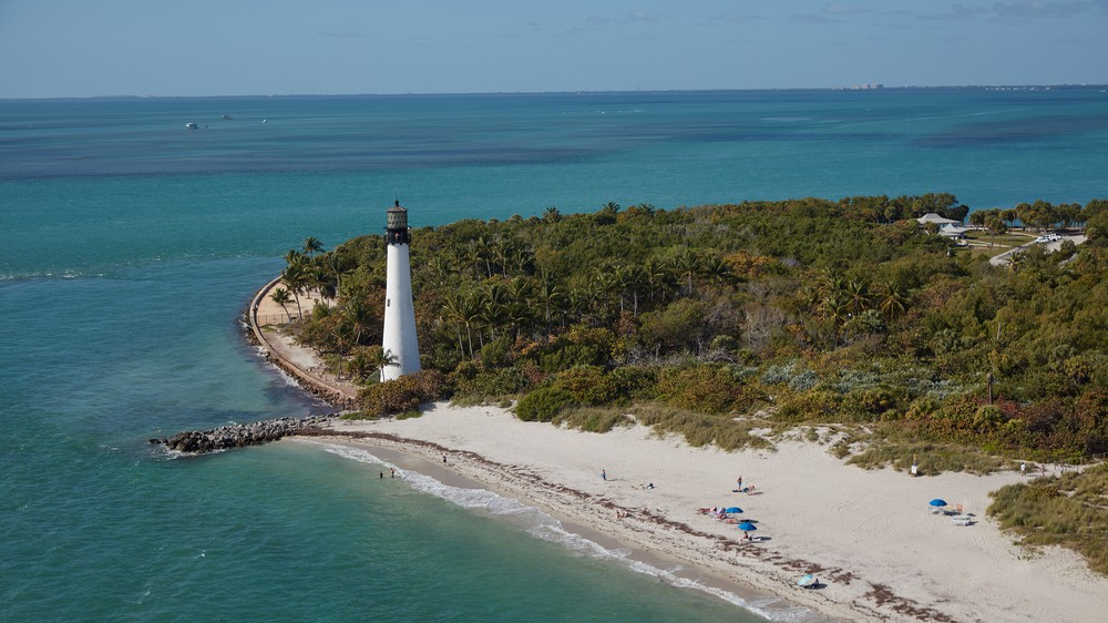 Cape Florida Lighthouse in Key Biscayne