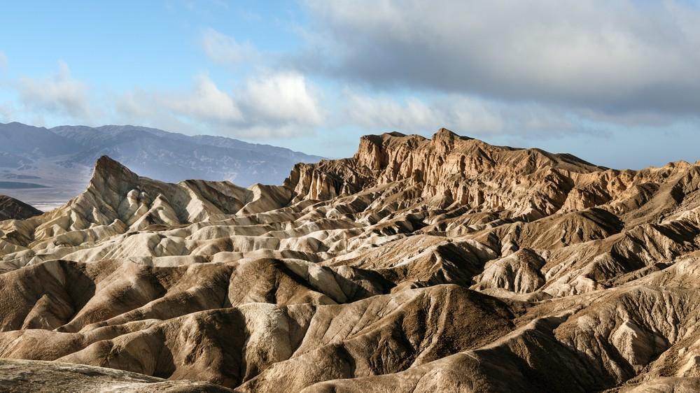 California Death Valley Zabriskie Point