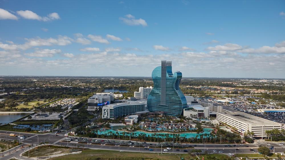 Seminole Hard Rock Hotel & Casino in Hollywood, Florida