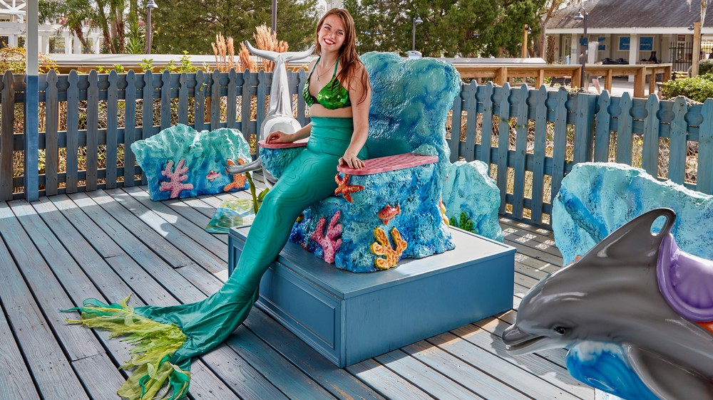 Weeki Wachee Mermaid in Florida