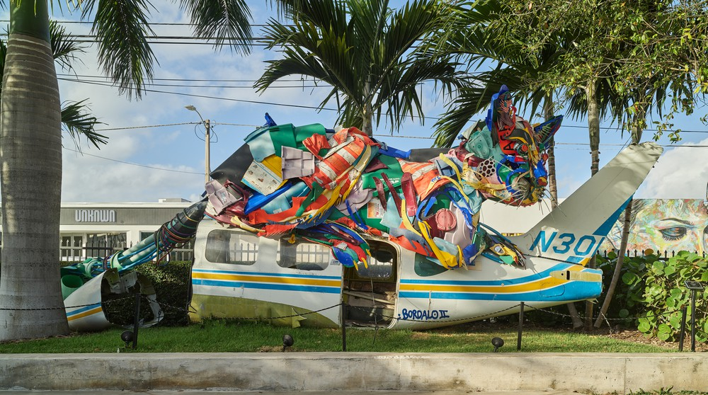 Wynwood Wall area in Miami, Florida