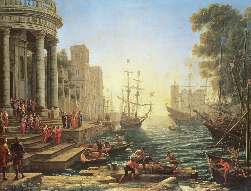 Claude Lorrain | Explore Meural's Permanent Art Collection