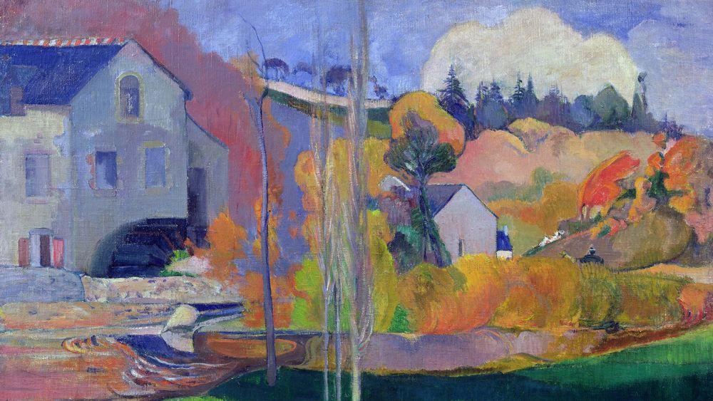 Brittany Landscape: the David Mill