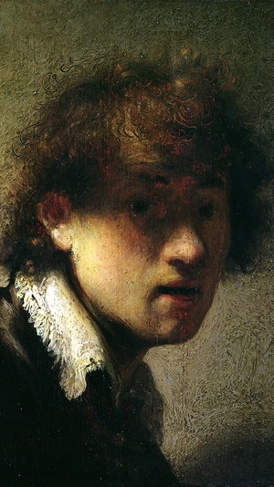 Head of a Young Man or Self Portrait