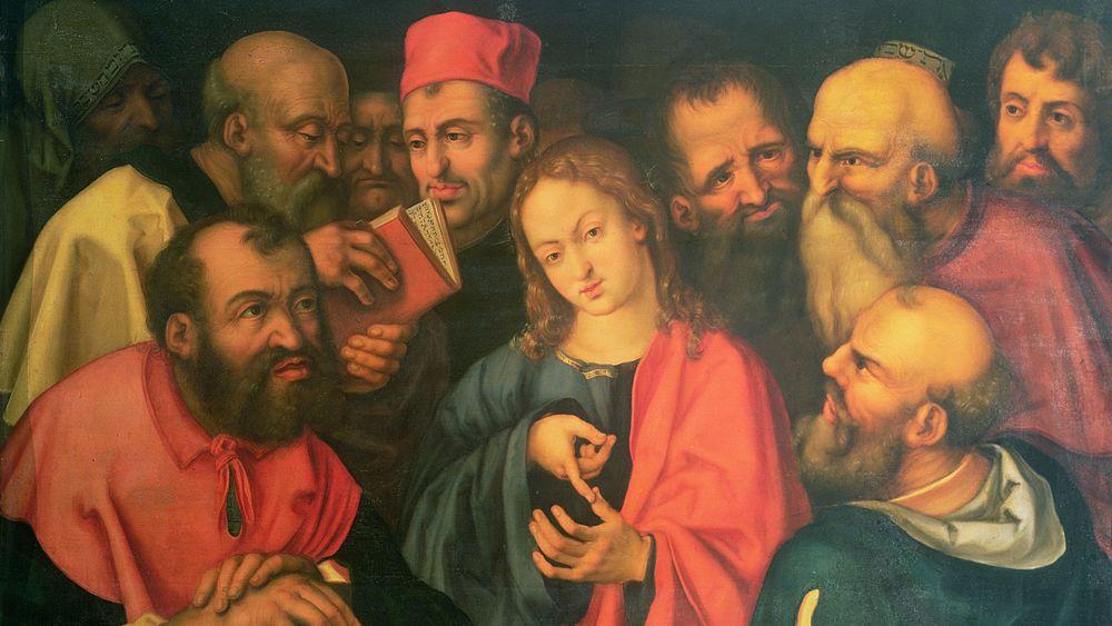 Christ, Aged Twelve, Amongst the Scribes