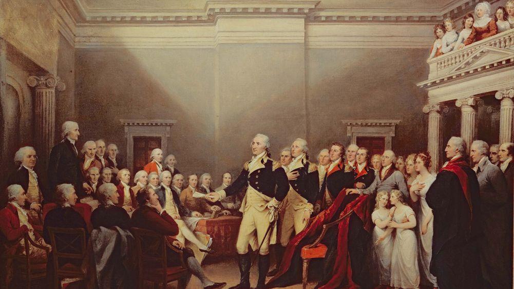 The Resignation of George Washington