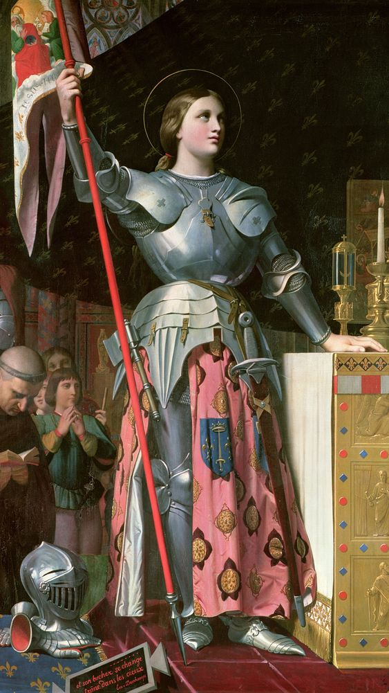 Joan of Arc at the Coronation of King Charles VII
