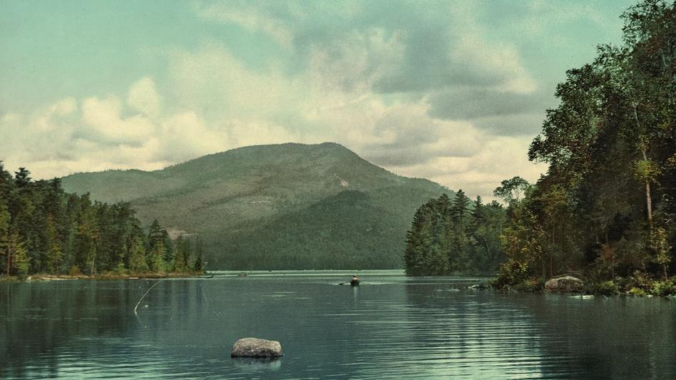 Blue Mountain from Eagle Lake, Adirondack Mountains