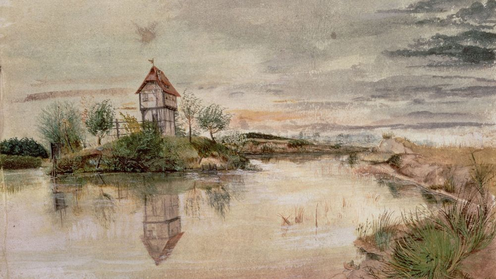 House by a Pond
