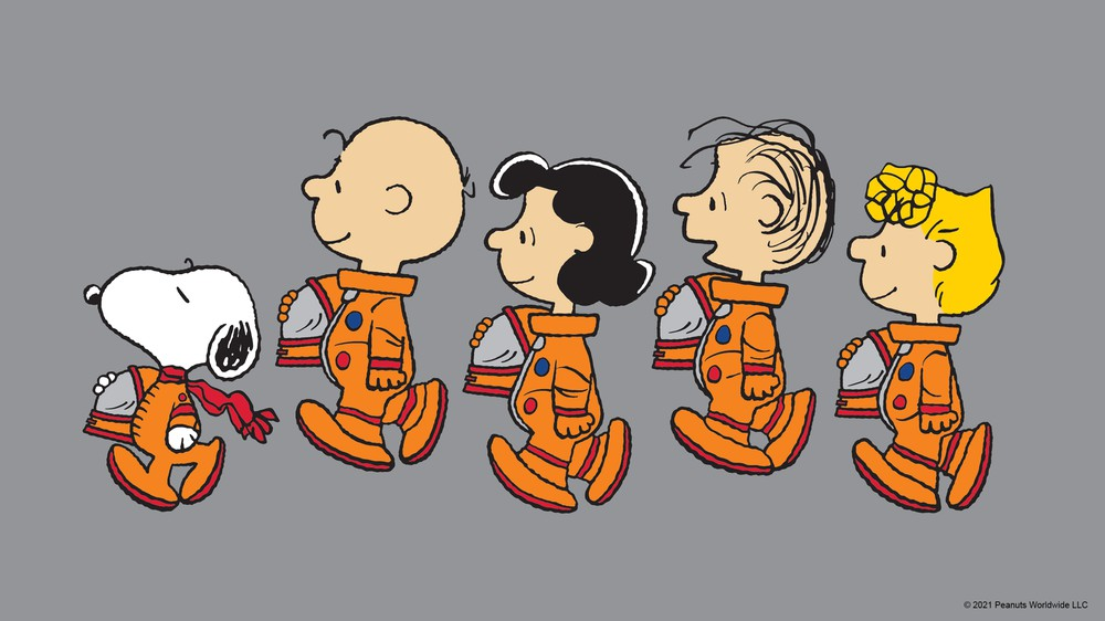 Friends in Space Suits