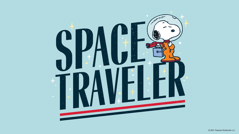 Snoopy the Space Traveler
