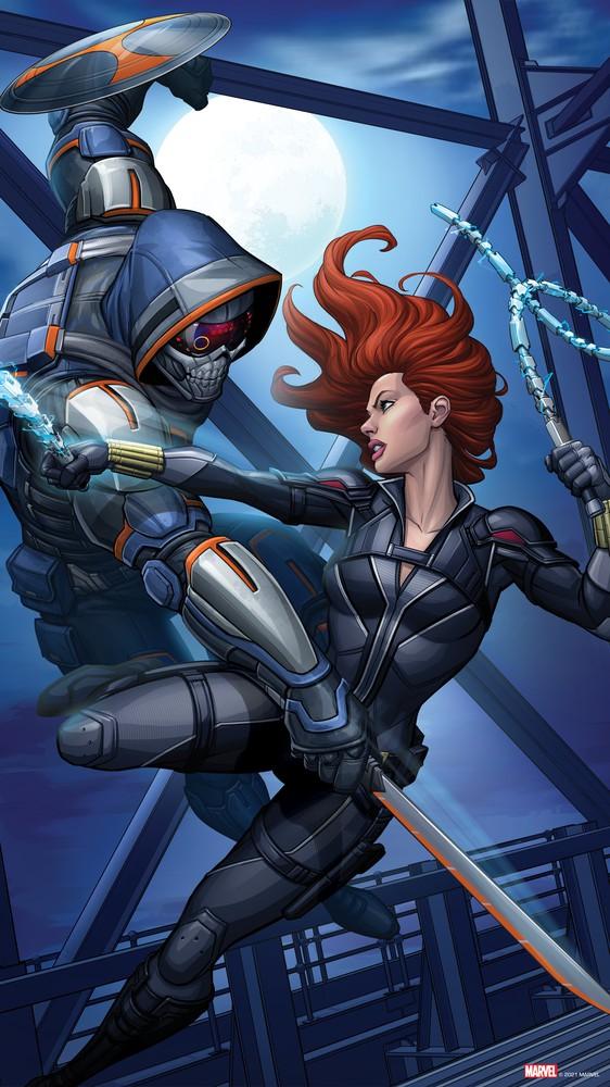 Black Widow and Taskmaster