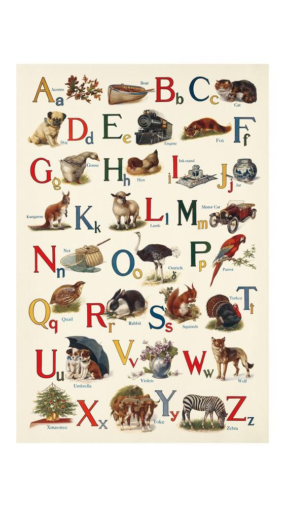 Schoolhouse Alphabet