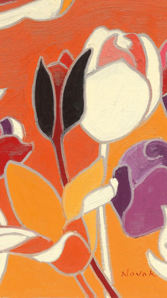 Cloisonne Tulipe II