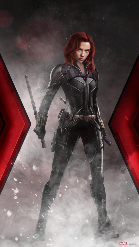Black Widow in Stance