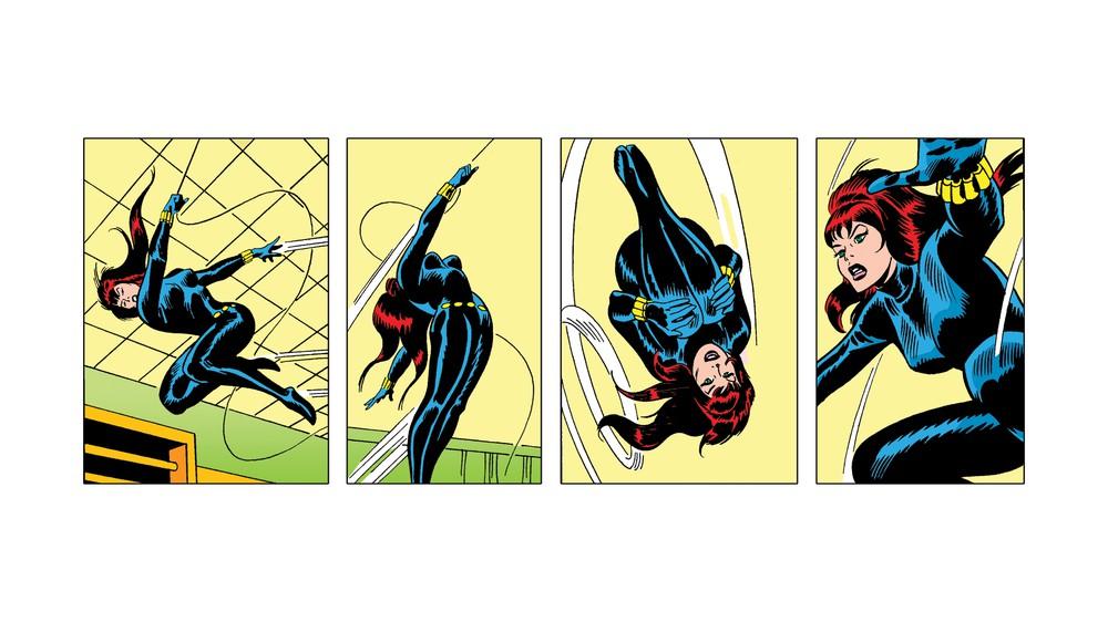 Black Widow Swinging