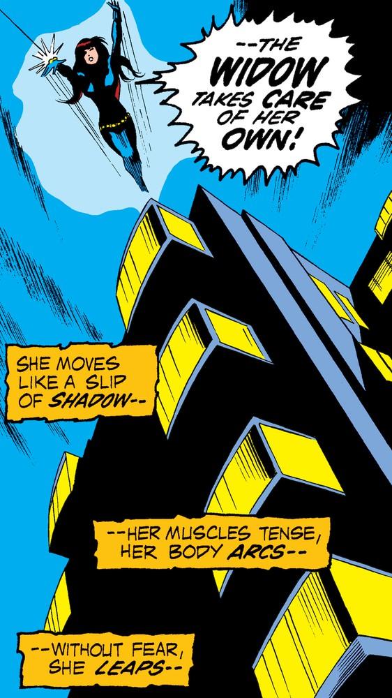 Black Widow's Rooftop Jump