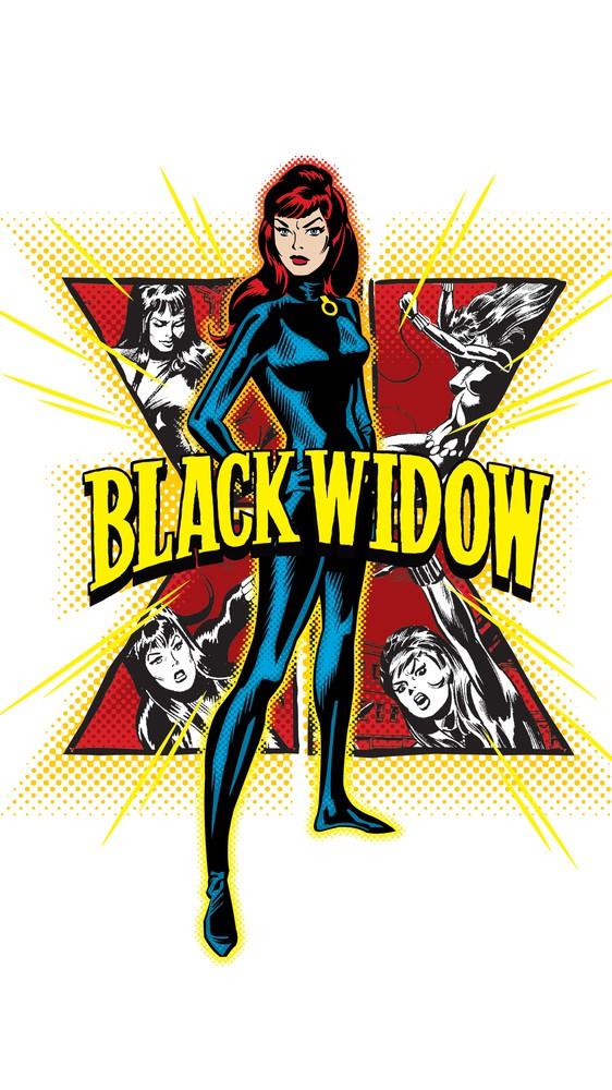 Iconic Black Widow