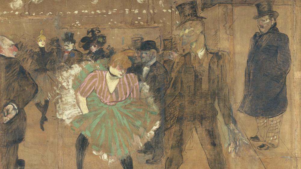 Dancing at the Moulin Rouge: La Goulue