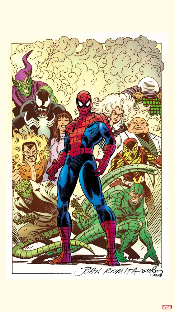 The Amazing Spider-Man #1, Variant Cover