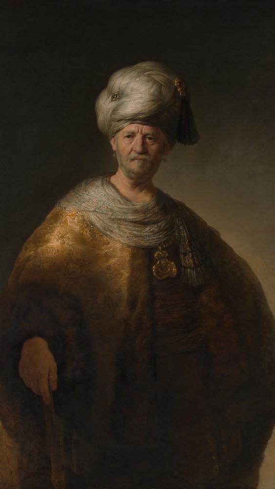 "Man in Oriental Costume (""The Noble Slav"")"