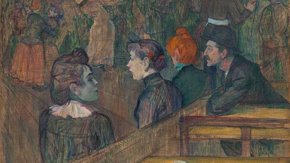 At the Moulin de la Galette